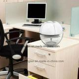 Purificador agua-aire aromático eficaz de madera redonda del ambientador de aire con la luz de siete colores LED