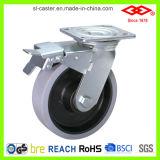 Schwenker bremste Hochleistungsfußrollen-Rad (P701-34D125X45Z)