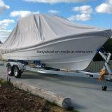 Liya 25FT Passagier-Fiberglas-Rumpf-Boot für die Fischerei für Verkauf