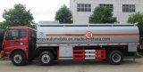 Carro de petrolero resistente de 20 árboles de T Auman 3 20 toneladas de gasolina del depósito de precio del carro