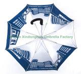 La qualité Windproof Parapluie droites de golf personnalisés en aluminium avec tissu UV (GED-0027AFA)