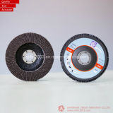 125*22mm Zironia & Aluminum Oxide Flap Disk para Metal (Professional Manufacturer)