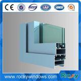 Polvere rocciosa che ricopre profilo di alluminio dell'espulsione 6063 T5 per Windows