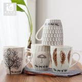 Ceramic Promotion Mug Companyのロゴの工場価格