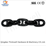 Черной краской шпилька Link Anchor цепь для морских судов