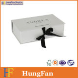Diseño de moda el papel de embalaje plegable articulada de la caja de velas