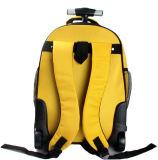 Trole Luggagebackpack com as rodas para o portátil