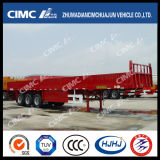 3axle Fence Diritto-Beam Semi Trailer con Main Beam Widened e Thickened