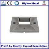 Quadratische Unterseiten-Flansch für rostfreie Geländer-Balustrade und Handlauf