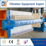 Pressão de filtro de câmara manual para indústria de caldo de fermentação