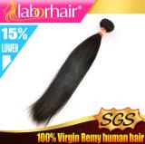 человеческие волосы перуанской девственницы 10A прямые, выдвижения волос 100% Unprocessed