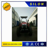 100HP de Tractor van het landbouwbedrijf (4X4) met de Laders en Backhoe van het VoorEind