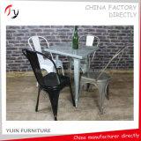 Présidence en acier de banquet durable jaune chinois de peinture (TP-40)