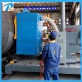 Stahlrohr-äußere Wand-Granaliengebläse-Reinigungs-Maschine