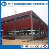 Il TUFFO caldo ha galvanizzato il magazzino/capannone/workshop/costruzione liberata di della struttura del blocco per grafici d'acciaio nei deserti e nelle zone tropicali