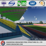 Struttura d'acciaio chiara liberata di per lo stadio