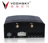 4 школьный автобус Vehicle Mobile DVR-Vcomsky H. 264 CH 3G Realtime Monitoring GPS