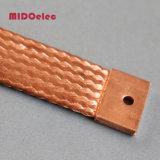 Alta calidad flexible de cobre trenzado puente conector