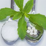 Steviaからの純粋で自然なゼロカロリーの甘味料のエキス
