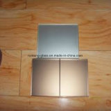 vetro glassato superiore di alta obbligazione di colore del bronzo dell'euro di 5mm