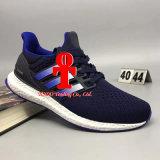 Ультра оригинал идущих ботинок женщин людей Cny Primeknit Oreo подталкивания 3.0 втройне черный белый голубой ультра форсирует тапку Ultraboost вскользь