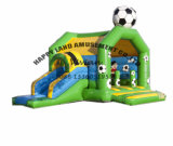 Green Football Topic Inflatable Combo