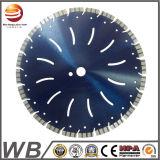 Diamantes soldada con láser Hoja de sierra circular
