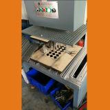 Rectángulo de papel, máquina que elimina inútil del interior de la cartulina