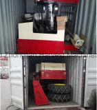 工場からの専門の大豆の収穫機