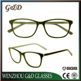 Nouveau design d'acétate de gros de Lunettes optiques Lunettes lunettes cadre