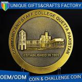 Moneta personalizzata del metallo del ricordo dell'oggetto d'antiquariato di disegno