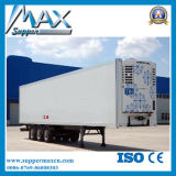 3axles Freezer Trailer, los 45FT Food Trailer, 45tons Seafood Trailer para Sale