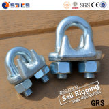 G450 Steel Galvanized Drop Forged Us Tipo Wire Rope Clip (CE, SGS, BV, ISO)