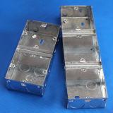 3*6 اثنان مجموعة صندوق مزدوجة كهربائيّة معدنيّة قابل للتكيّف