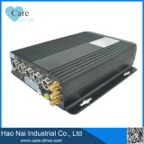 3G 4チャネル移動式DVR車のレコーダー、SIMのカードDVRシステム