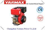 Démarreur électrique simple refroidi par air de moteur diesel du cylindre 190f de Yarmax