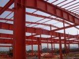 Estructura de acero pre dirigida larga Building733 del palmo