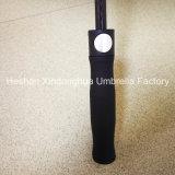 Parapluies promotionnels de qualité de fibre de verre d'hôtel automatique de Westin avec l'impression de bord (SU-0023FAE)