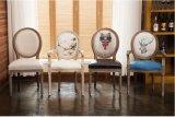 Madera sólida Louis de Hotsale que cena la silla, silla de madera de Louis