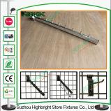 Металлические висящих витрины с крюком для сетей супермаркетов