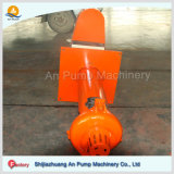 Desgaste - bomba vertical submergível resistente da pasta para a descarga do poço da mineração