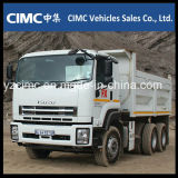 Novo Isuzu 10wheeler 400HP Heavy Dump Truck com 25 Ton