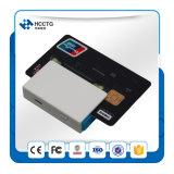 A máquina da posição suporta o cartão de tira magnética do cartão do CI (Mpr100)