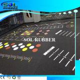 Pavimentazione di gomma di nuova del reticolo di alta qualità ginnastica resistente di slittamento