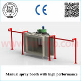 Plus défunt Manual Powder Coating Booth dans Powder Coating Line