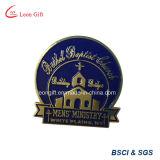 Изготовленный на заказ оптовый Pin отворотом значка золота Rose яркия блеска