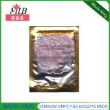 Purpurrote Diamant-Kollagen-Kristallgesichts-Sorgfalt-Schablone