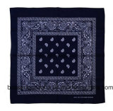 OEM Produce Cheap Customized Promotionnel Double imprimé 100% coton Paisley Cowboy Bandanas
