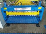 Telha de dupla camada de metal tornando as máquinas fabricadas na China