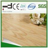8 mm de chêne blanc 2 bandes en relief de surface en érable HDF stratifié de sol